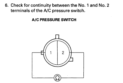 2003 Ac How To Test Pressure Switch Drive Accord Honda Forums