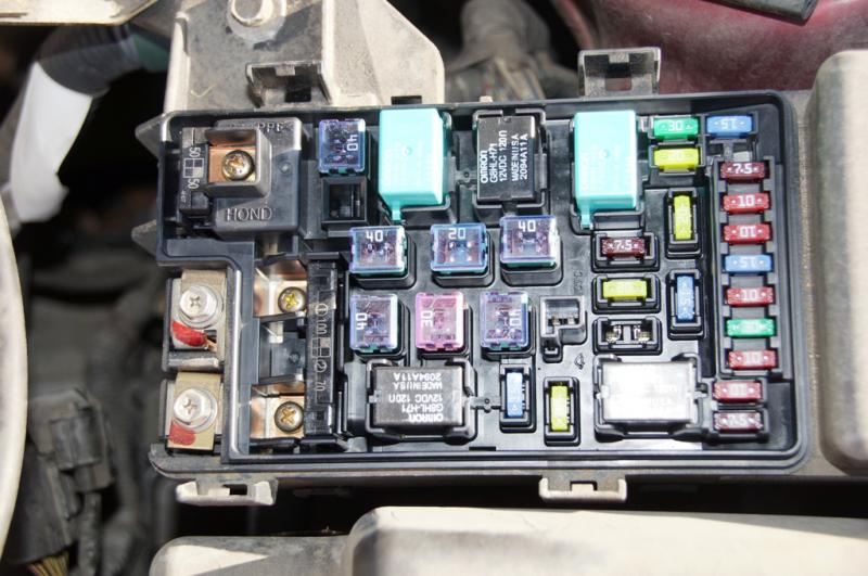 Location Of Starter Fuse Or Relay For, 93 Honda Accord Starter Wiring Diagram