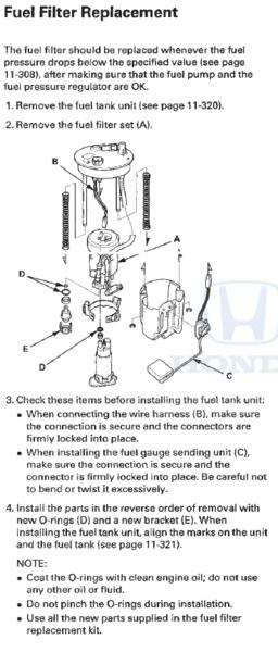 Where is the fuel filter located on a 2008 honda accord and how to replace  it? | Drive Accord Honda ForumsDrive Accord