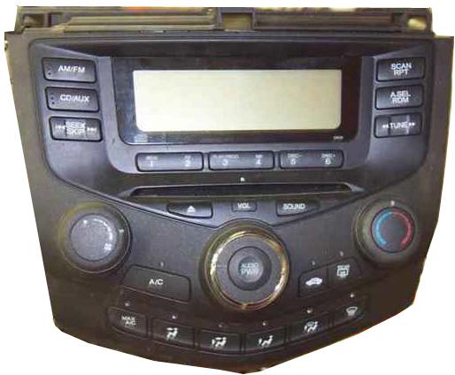 2003 Honda Accord Radio Code Reset Gorgeous New Odyssey How To Unlock