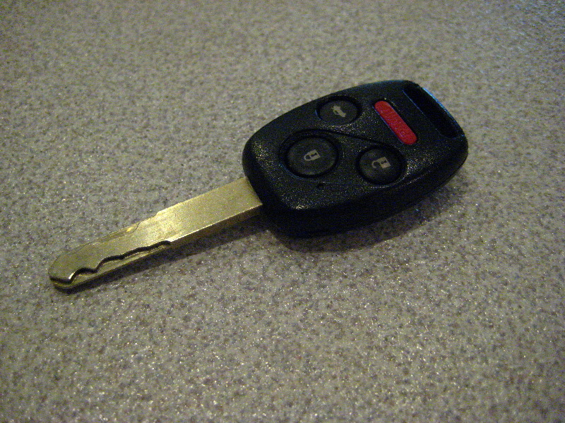 Honda Accord Key Fob Remote Battery Replacement Guide