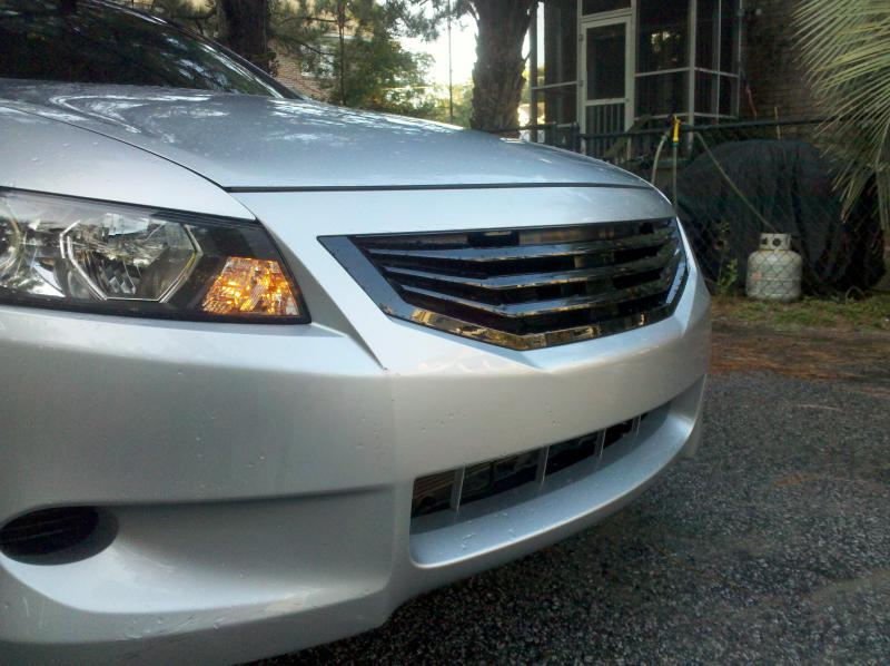 2008 Honda Accord Mugen Grill Details about For 08 10 Honda Accord