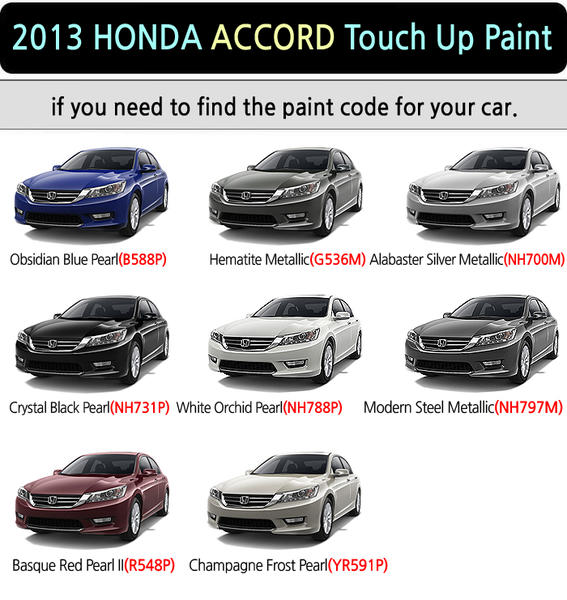 Touch Up Paint For 2016 Accord Black Drive Accord Honda Forums