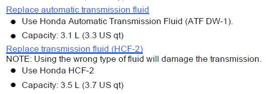 correct transmission fluid type for 2014 honda accord lx drive accord honda forums drive accord