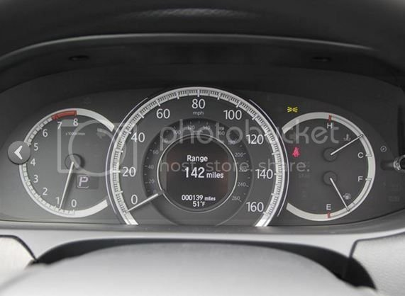 How to change display settings for speedometer inner circle?   Drive