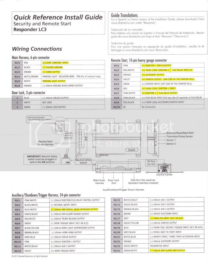 8th Gen Accord Remote start project HELPS! Viper 5904 ... Dball Wiring Diagram on