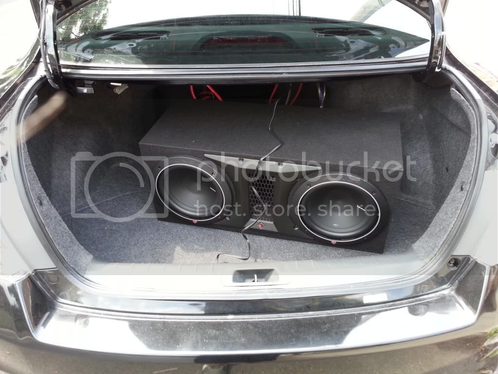 got a new subwoofer to fit my trunk ! | Drive Accord Honda Forums