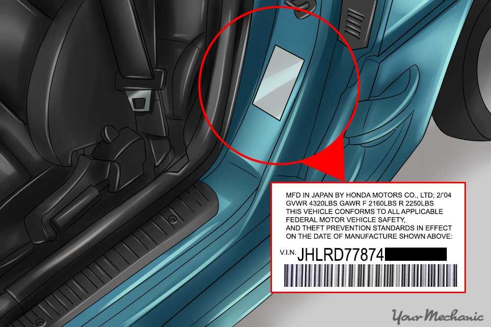 VIN Decode build date | Drive Accord Honda Forums