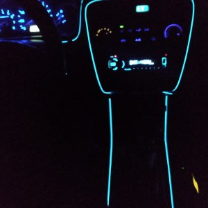 El wire , Ambien lights, 1998 Honda Accord